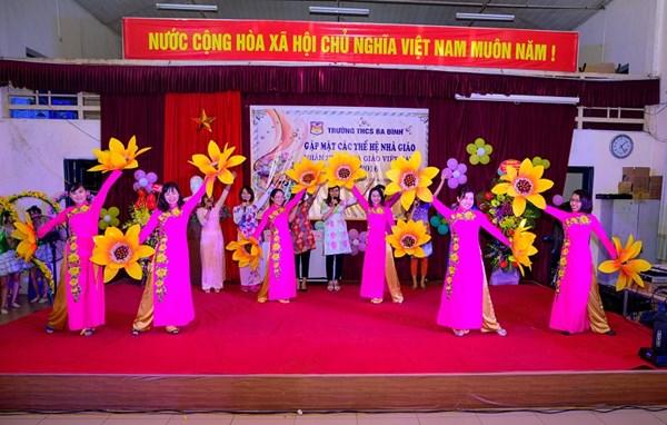 Công tác Chi Đoàn - Thế mạnh của trường THCS Ba Đình