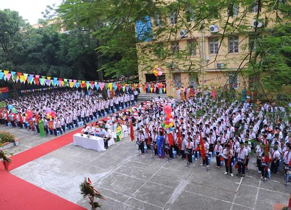 Lễ khai giảng chào đón năm học 2016 - 2017