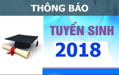 THÔNG BÁO: Tuyển sinh năm học 2018 - 2019