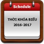 Thời khóa biểu số 4 - khối sáng (14-11-2016)