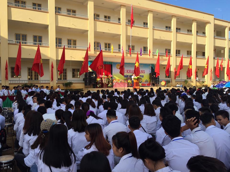 ẢNH KHAI GIẢNG 2017-2018