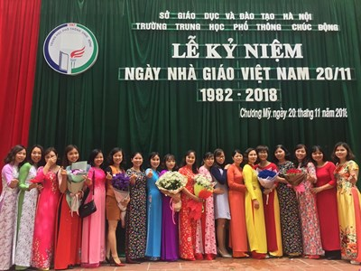 Kỷ niệm 36 năm ngày nhà giáo việt nam (20/11/1982-20/11/2018)