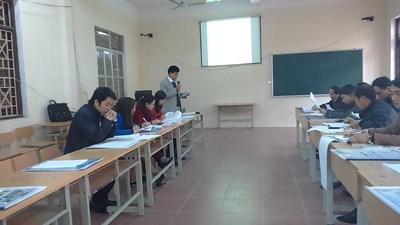 Hội thảo chuyên đề của tổ Hóa - Sinh - KTNN
