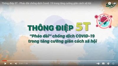 Video thực hiện nghiêm thông điệp 5T