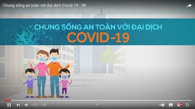 Video Chung sống an toàn với đại dịch Covid -19