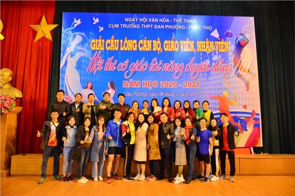Ngày hội văn hóa thể thao - hội thi cô giáo tài năng duyên dáng cụm đan phượng- phúc thọ,năm học 2020-2021
