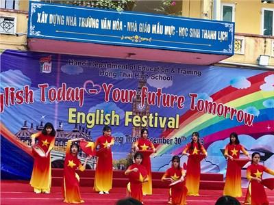 Chung khảo english festival năm học 2019-2020