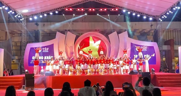 Chung kết Liên hoan dân vũ quốc tế