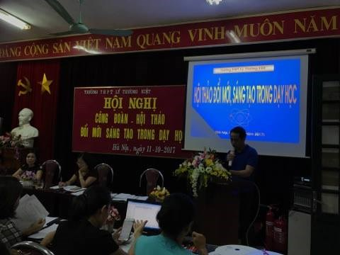 """""""ĐỔI MỚI, SÁNG TẠO TRONG DẠY HỌC HÓA HỌC """" Hà Nội, ngày 11 tháng 10 năm 2017"""