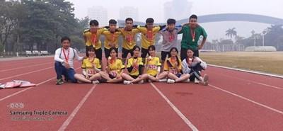 Những gương mặt tiêu biểu của học sinh trường THPT Tân Dân tham gia giải thể thao học sinh phổ thông TP Hà Nội năm học 2020-2021