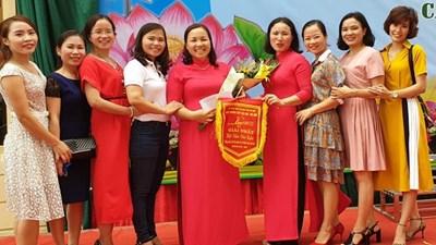 Đạt giải Nhất Hội diễn văn nghệ Tiếng hát cán bộ quản lý, giáo viên vòng cụm Mê Linh-Sóc Sơn năm 2019