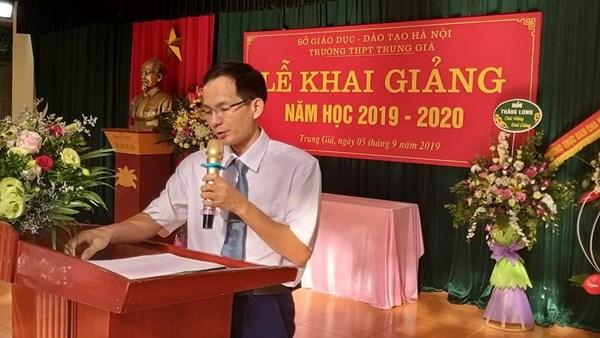 Một số hình ảnh từ lễ Khai giảng năm học mới 2019-2020