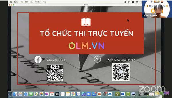 Video buổi tập huấn dạy học trực tuyến: Giao bài trên OLM.vn