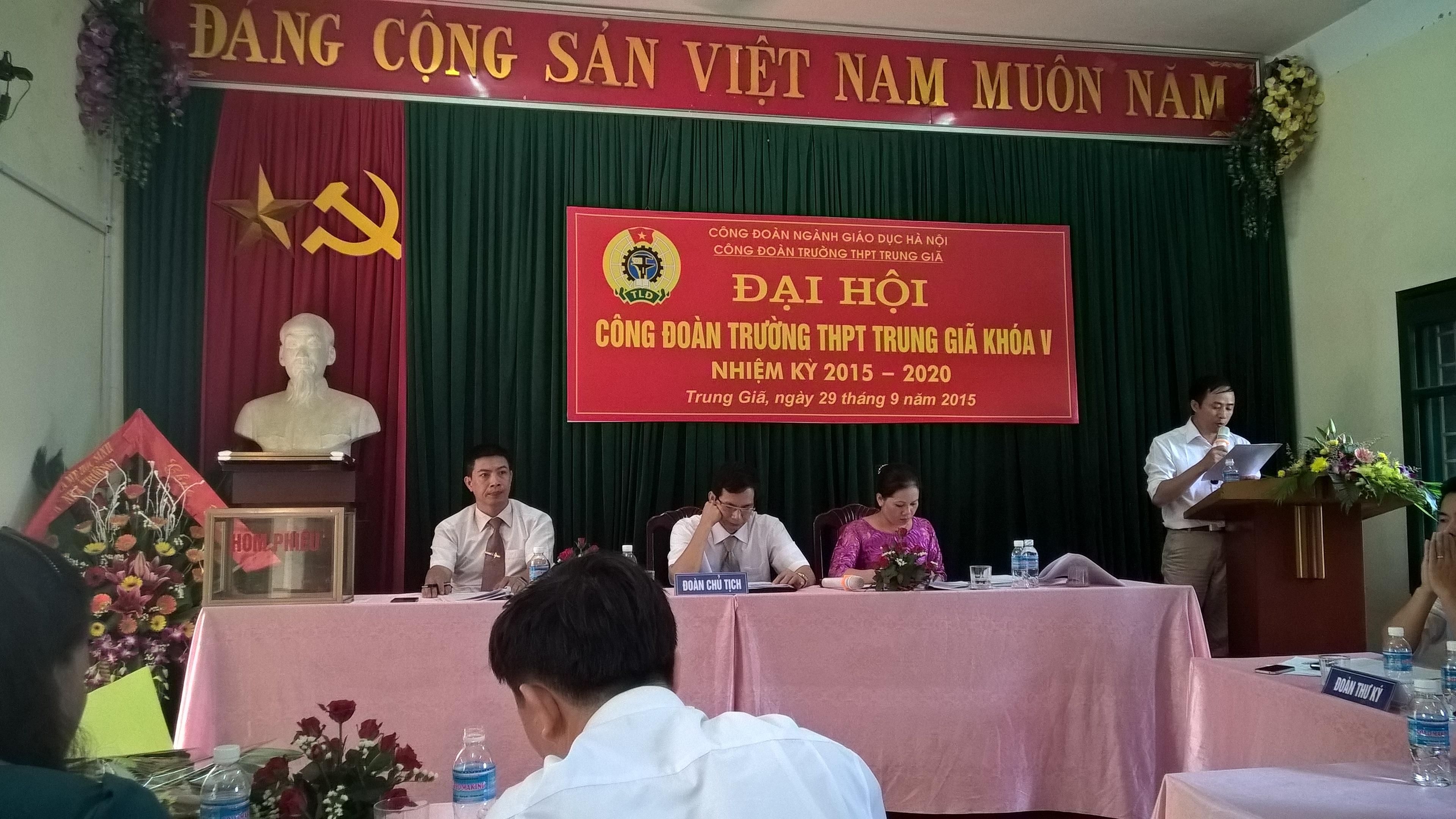 đại hội công đoàn 2015